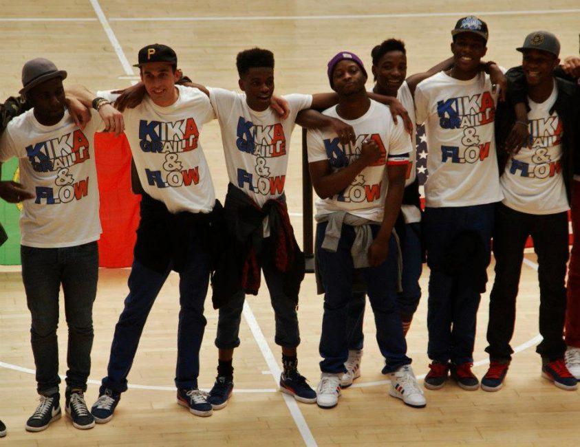 Les danseurs de l'Alliance Crew