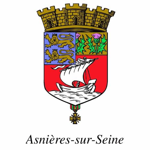 La ville d'Asnières-sur-Seine